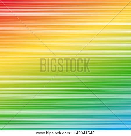 Abstract wavy striped background with lines. Colorful pattern with gradient rainbow glitch texture. Vector illustration of digital image data distortion.