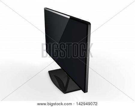 3D Rendering Modern Tv