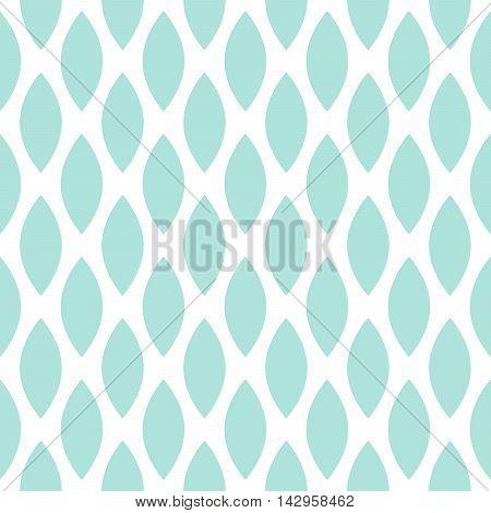 Blue drops vector seamless geometric pattern. Simple fine print background.