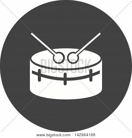 Snare, drums, musical icon vector image.Can also be used for music. Suitable for mobile apps, web apps and print media.
