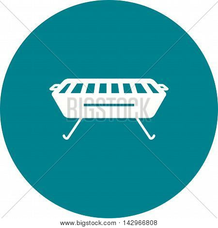 Food, barbeque, grill icon vector image. Can also be used for home. Suitable for web apps, mobile apps and print media.