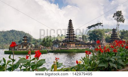 Pura Ulun Danu Bratan On Bali