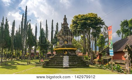 Buddhist Temple On Bali