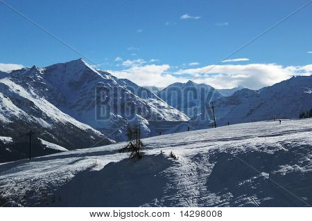 View Of The Alps, Switzerland