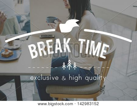 Break time Coffee Cafe Cafeteria Concept
