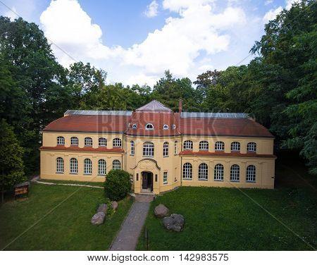 Altenburg: Mauritianum, Natural Science Museum aerial view