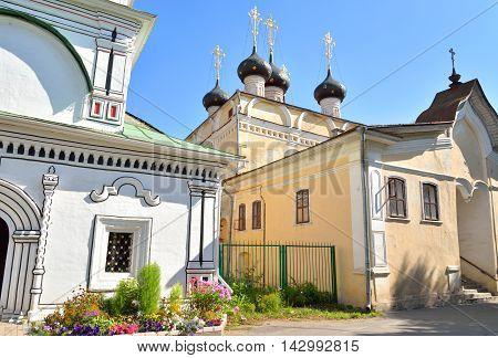 Church of St.Dimitrov Prilutsky on Navolok in Vologda Russia.