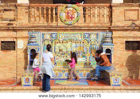 Seville Tourists