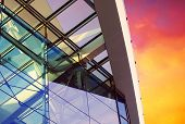 Постер, плакат: Бизнес зданий архитектуры на фоне неба