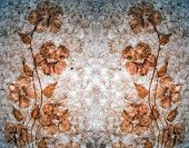 Background Dried Flowers