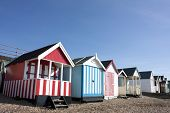 foto of beach hut  - Thorpe Bay beach huts - JPG