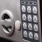 Electronic Home Safe Keypad, Small Home Or Hotel Wall Safe With Keypad poster