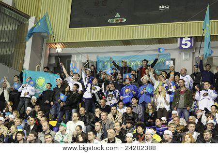 Kazakhstan supporters