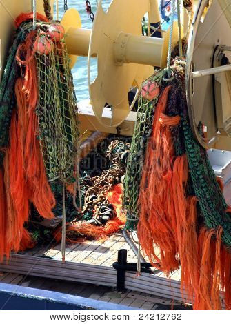 Fishing Boat Nets