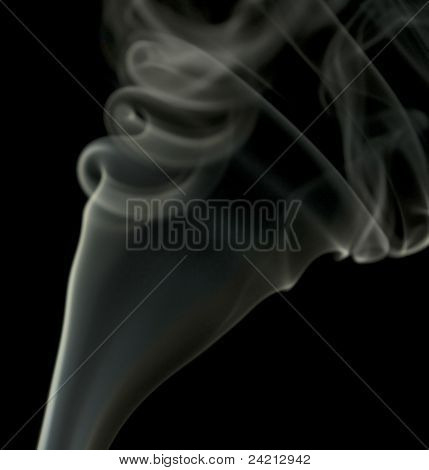 Smoke Detail In Black Back