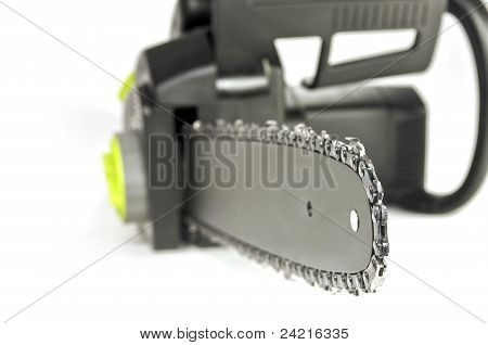 Chainsaw Close Up.