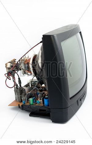 Disassemble Crt Television