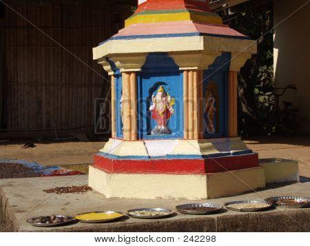 Hindu Altar, Goa, India