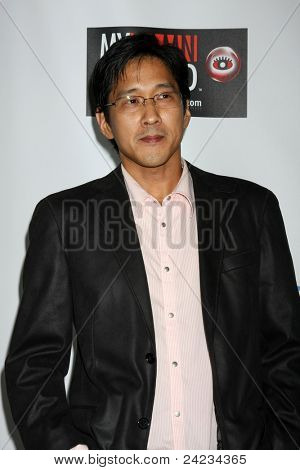 LOS ANGELES - OCT 10:  Michael Kang arriving at the Web-series