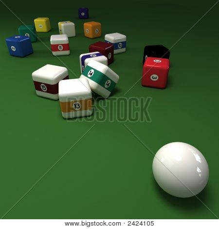 Cubic Billiards Balls