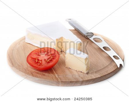Cheese And Tomato Slice