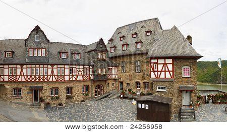 Stahleck Castle (burg Stahleck), Bacharach, Germany