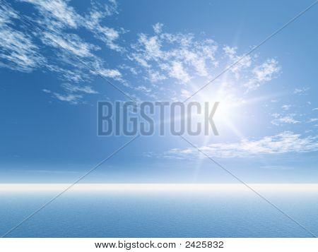 Open Sea Background