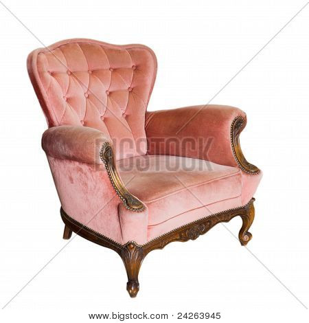 Luxury Vintage Arms Chair