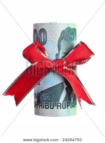 Indonesian Money Gift