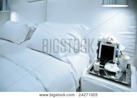 White Sleep Room