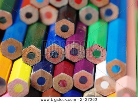 Pencils Different Colors.