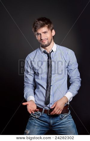 businessman gesture