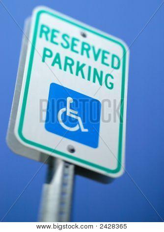 Handicap Reserved Parking