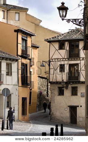 Tourist at Segovia