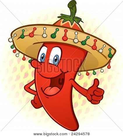 Sombrero Pepper Thumbs Up