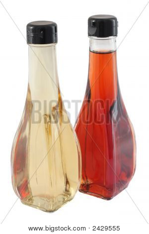 White And Red Vinegar