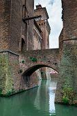 Ferrara, Emilia-romagna, Italy - Castello (castle) Estense poster