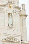 stock photo of fatima  - detail of Sanctuary of Our Lady of Fatima - JPG