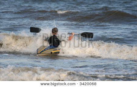 Hitting Wave
