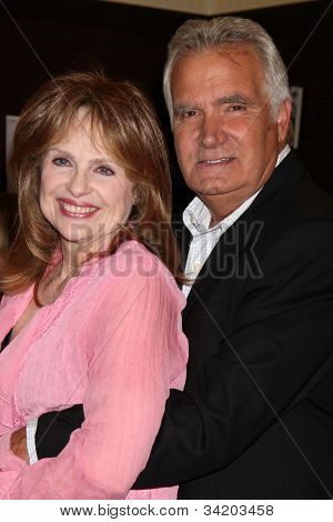 LOS ANGELES - JUN 21:  Janice Lynde, John McCook at a booksigning for