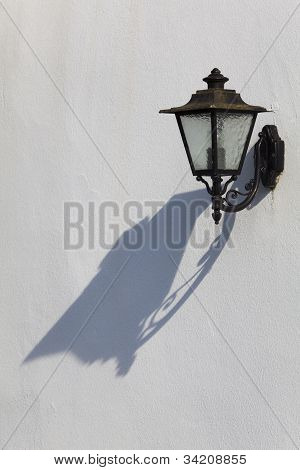 Streetlamp in Espelette