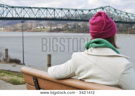 Looking Out From The Bench