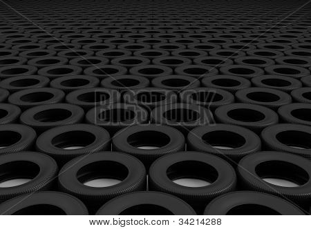 Field Of Wheels