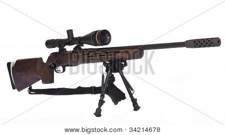 Sniper Rifle Side