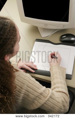 Graphics Tablet Vertical