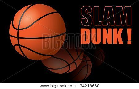 Basketball Slam Dunk!