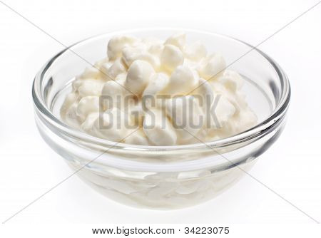 Cottage Cheese In Bowl