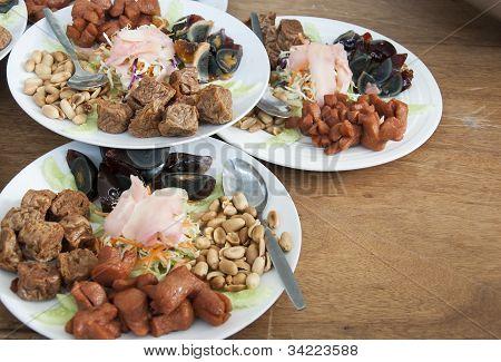 Thai style appetizer
