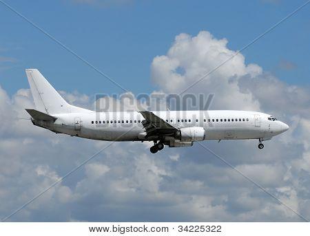 White Passenger Airplane
