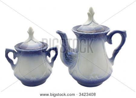 Teapot And Sugar Bowl